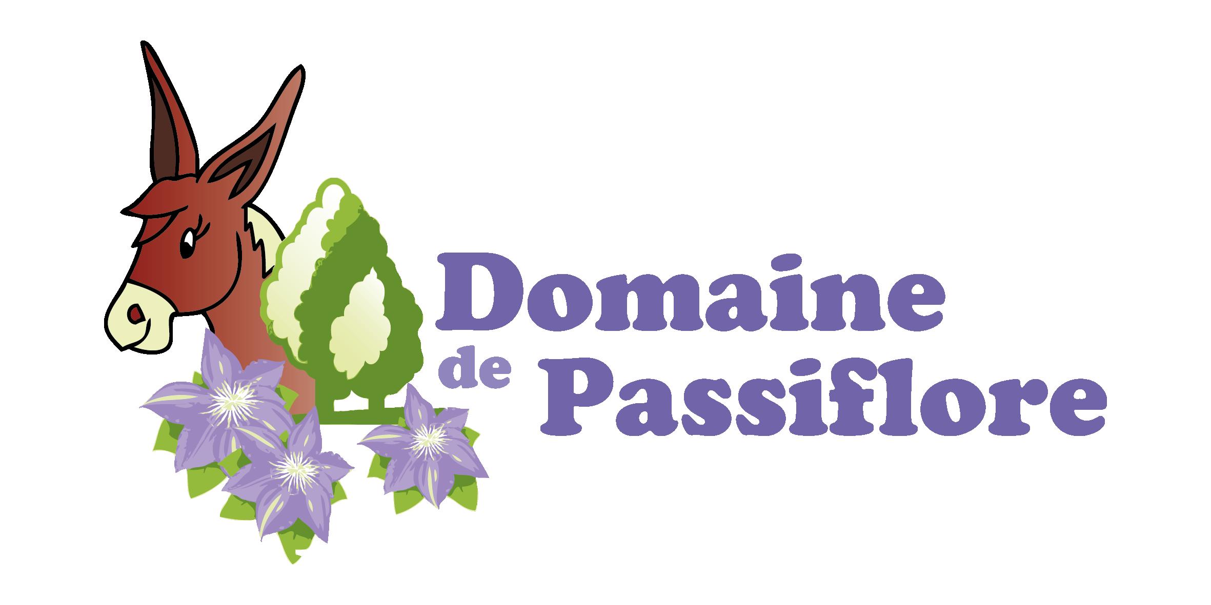 LOGO Domaine Passiflore